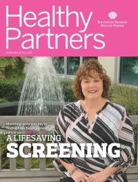 Article in Healthy Partners magazine cover button Fall 2017 issue